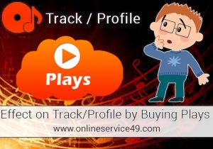 Effect on TrackProfile by Buying Plays