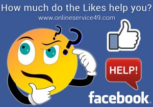 How Much do Facebook Likes Help You