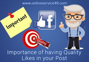 Importance of Having Quality Likes in Your Posts